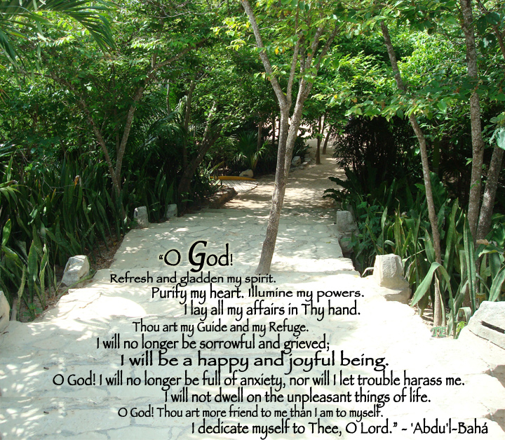 O God! Refresh and gladden
